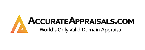 Visit AccurateAppraisals.com - Domain Appraisals & Domain Valuations