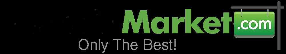 domain market logo premium domain